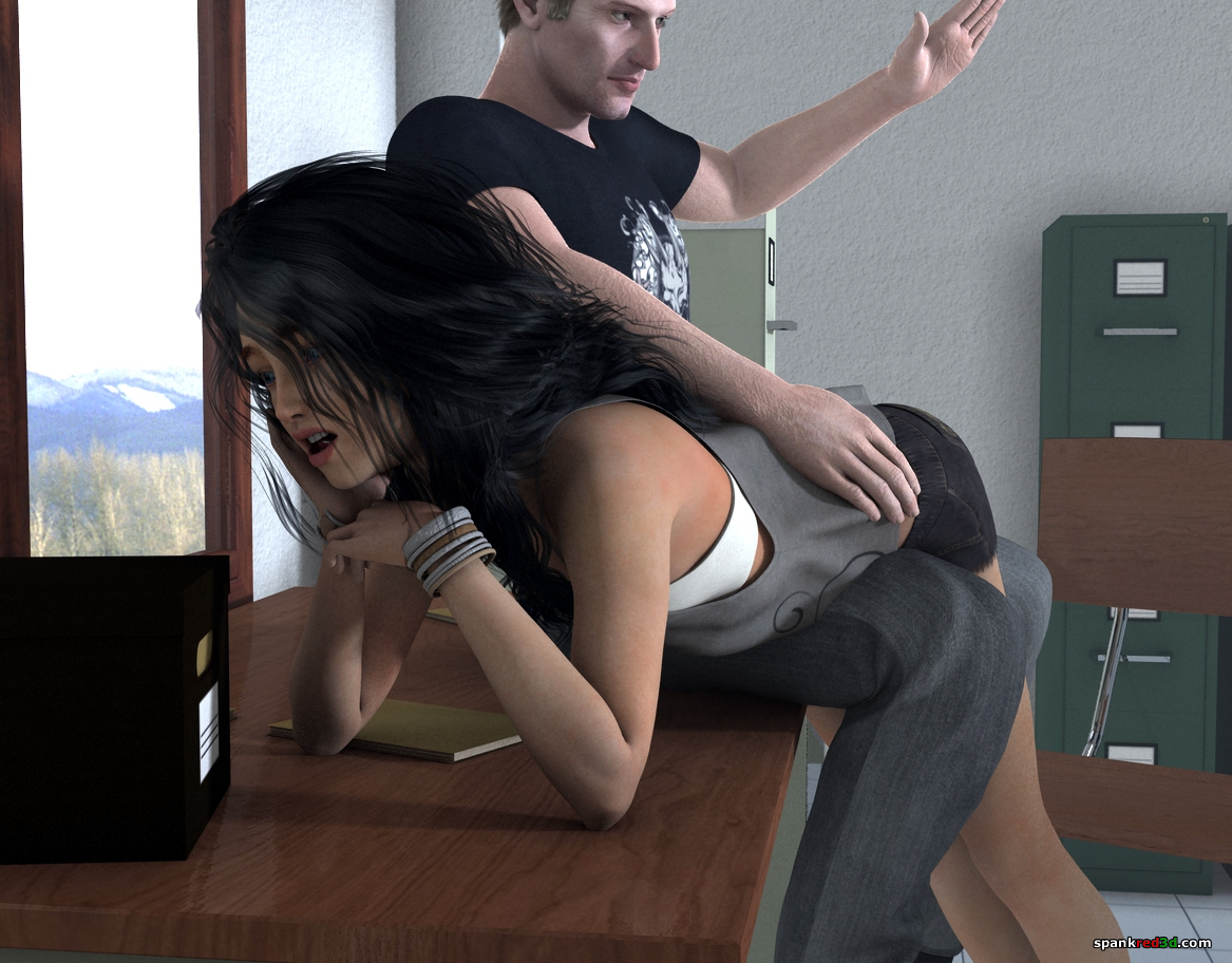 Office spankings
