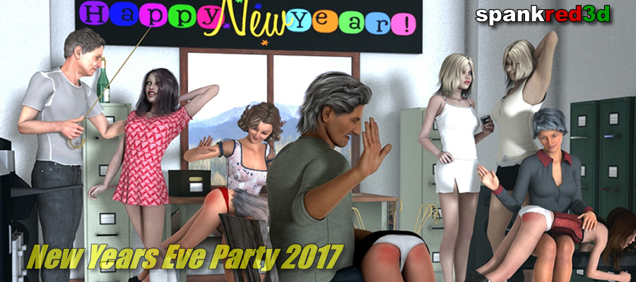 New Years Eve spanking party 2017