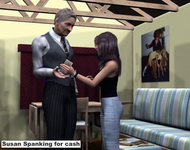 Money for spanking