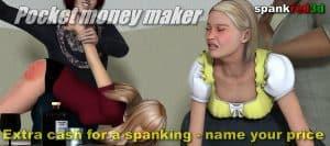 Pocket Money Spanking