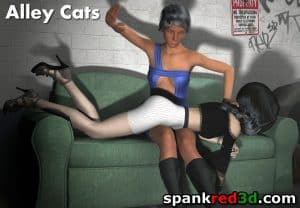 Alley Cats Spanking