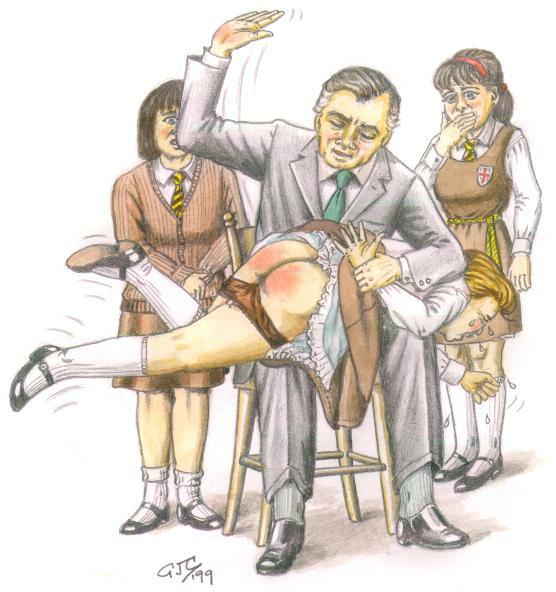 Share your Spanking art drawings