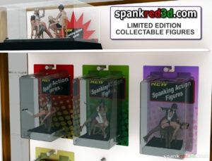 3d printed spankred3d figurines