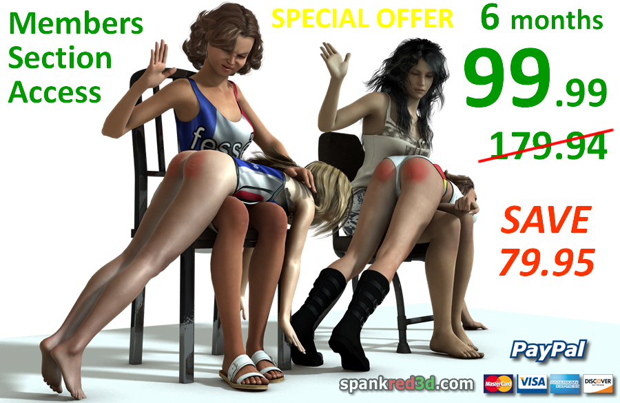 Join spankred3d with Paypal