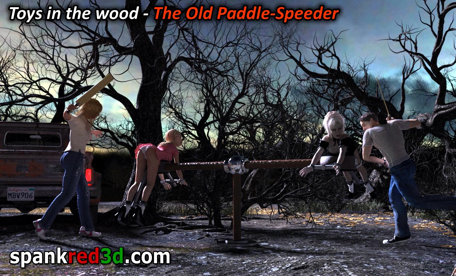 Otdoor paddling spanked Paddle Speeder