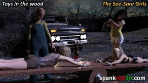 The See Sore spanking ride