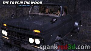 Toys Wood Rain wet bottoms caned strap sea-sore