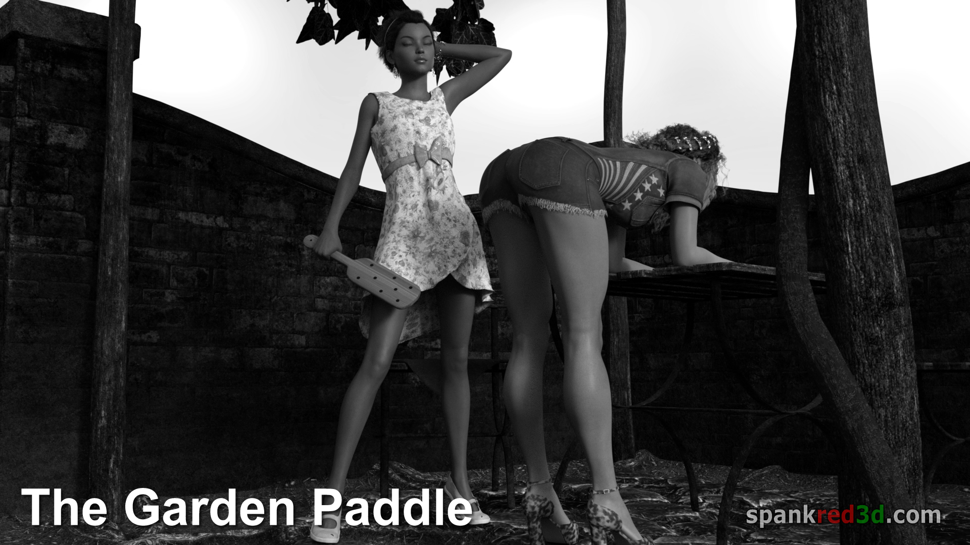 Paddle Garden Outside