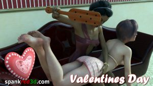 spanking paddle Valentines