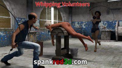 Whipping Volunteer Bullwhip