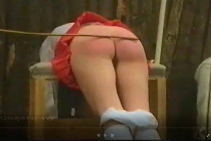 Vintage Caning Retro spanking movies