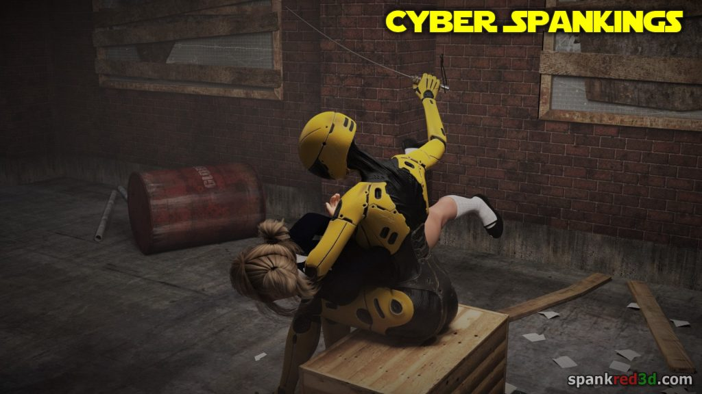 Caning Robo spanker