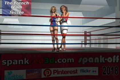 French Spanking Team
