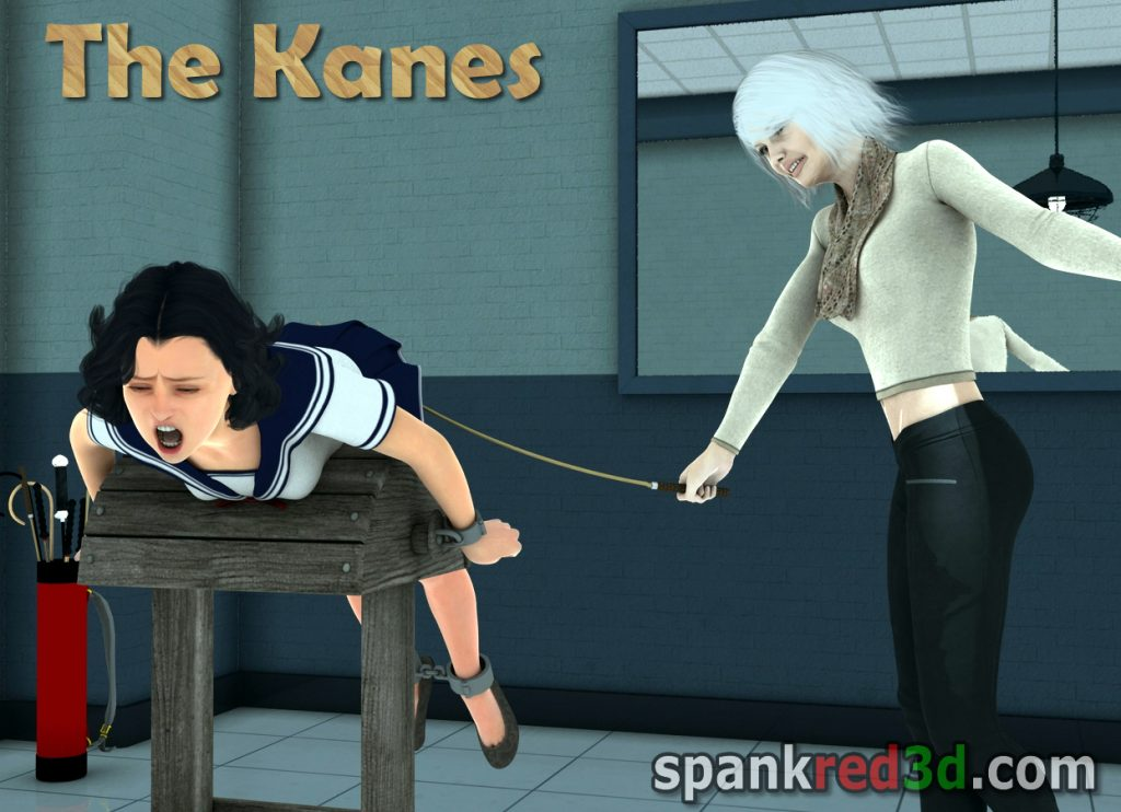 spank red Mr & Mrs Kane likes to cane naughty young girls bottoms hard