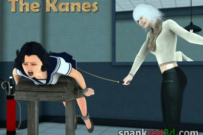 spank red Mr & Mrs Kanes
