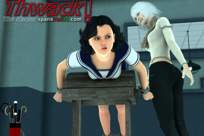 Thwack waht stinging bottom