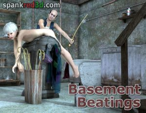 Basement beatings canings downstairs