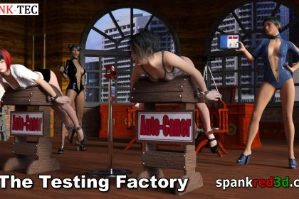 spanking caning machine