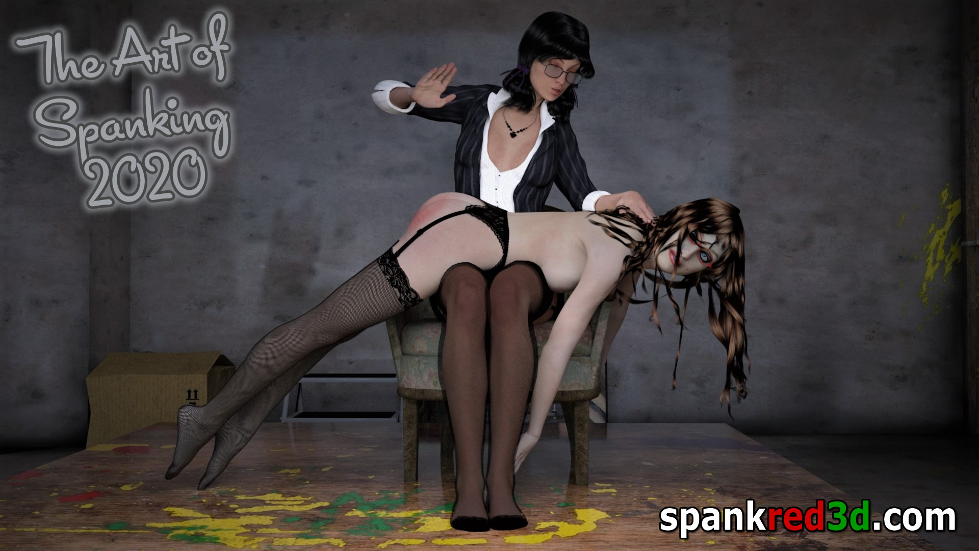 red hot spanked sting bottom cheeks. Spanking is an art.