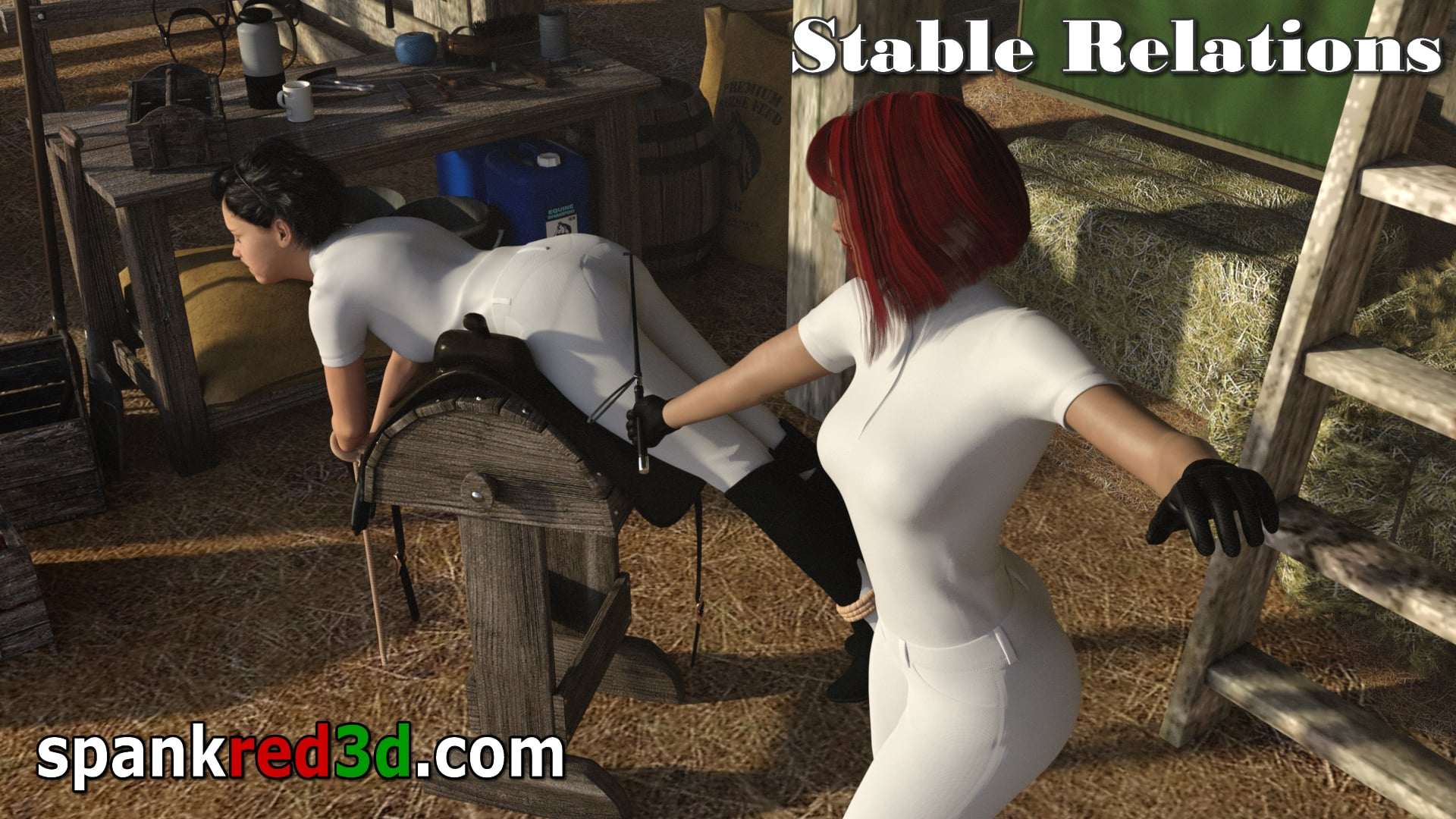 Stable relations in the barn with a crop