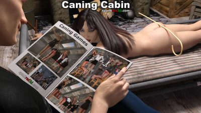 caning and kinky games in the cabin
