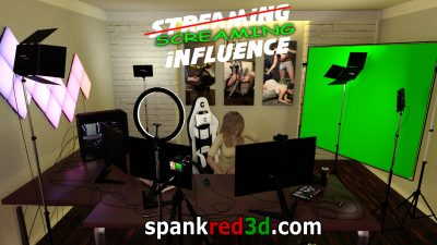 Punishment Droid Streaming Live with Daphne and assistant Sue