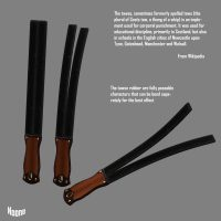 The Tawse with twin tails