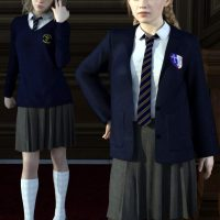 G8 compatible uniforms for free download school girl outfit