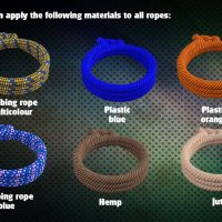 Ropes of all shapes and sizes Daz 3d Free Downloads