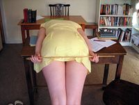 free caning for naughty schoolgirl bottoms